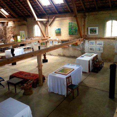 Kunstoffene Wochenenden auf dem Künstlerhof Franziska Kunath