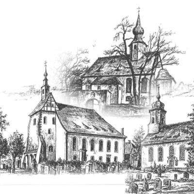 Die Kirchgemeinden Rüsseina, Raußlitz und Wendischbora