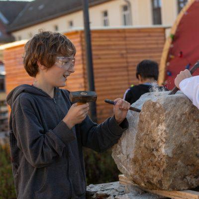 Bildhauerei mit Alexander Stollberg: Teil 2