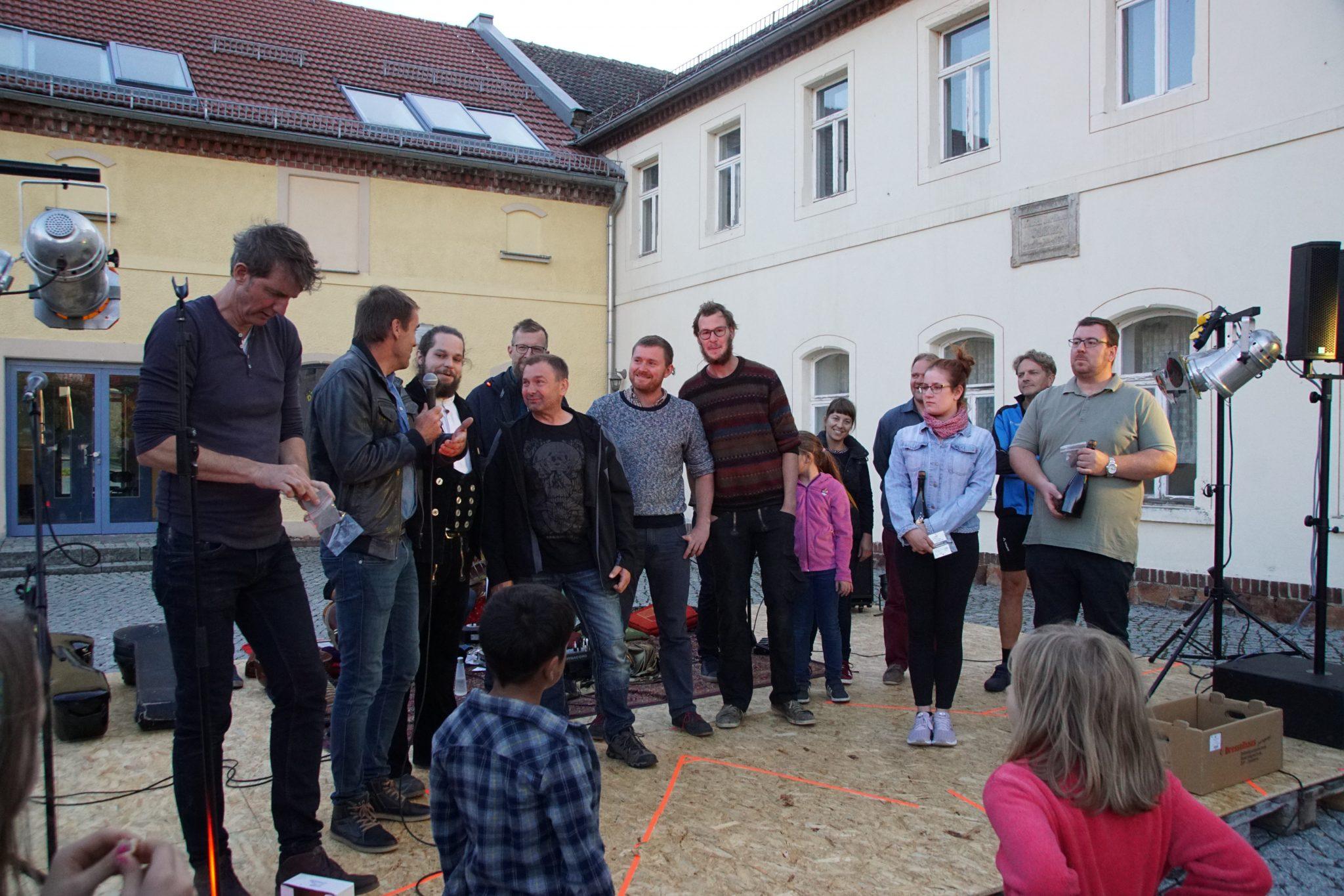 Mahlitzsch und Heynitz: Die Sieger beim Budenbauwettbewerb