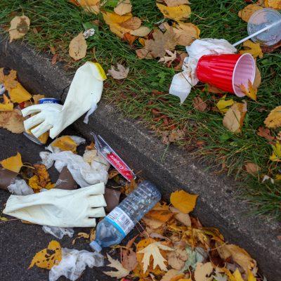 Gemeinsam für ein sauberes Dorf - Müllsammelaktion 2020